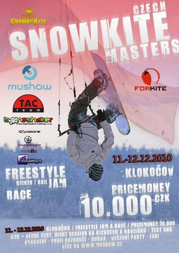 Czech Snowkite Masters 2010